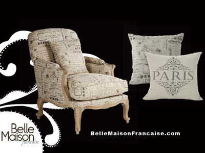French Fashion Words on Escape Launches New French Furniture Boutique     French Chic Style