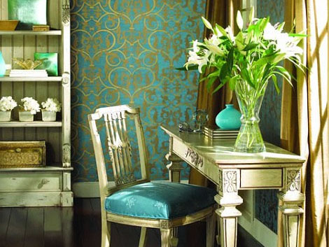 Turquoise Room - hot color in 2012