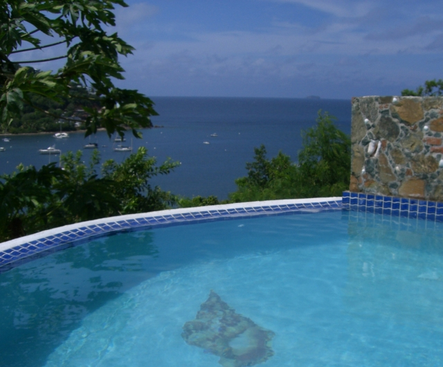 Romantic Caribbean View