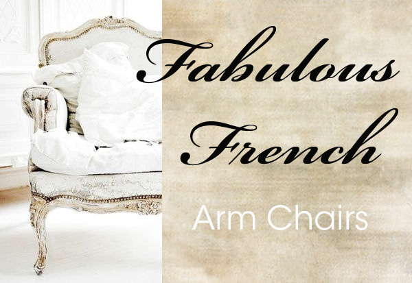 French arm chairs copy